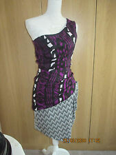 ASOS 1 Shoulder Dress Size 8uk