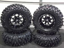 "25"" QUADKING ATV TIRE & STI HD4 WHEEL KIT LIFETIME WARRANTY  SRA1CA BIGGHORN"