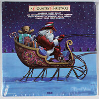 Country Christmas (1982) [SEALED] Vinyl LP • Willie Nelson, Alabama, Holiday