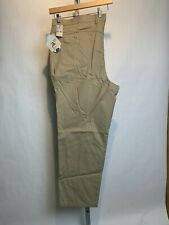 NWT Vintage Men's Lee Casual Khaki Big And Tall 50 X 30 Relaxed Fit (G34)