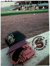 1999 Official Porgram Wisconsin Timber Rattlers