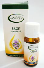 PURE CLARY SAGE Essential OIL Salvia, Anti Wrinkles, 100% Natural, 10ml
