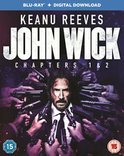 John Wick Chapters 1 and 2 Blu-ray Digital Download 2017 DVD