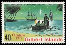 GILBERT ISLANDS 303 (SG58) - Voyages of Captain Cook 200th Anniversary (pa88619)