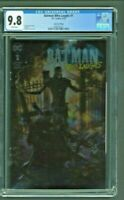 Batman Who Laughs #1 CGC 9.8 Clayton Crain Foil Edition Variant Cover DC Comics