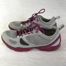 Ecco Women's Sz 38 US 7.5 Biom Sneakers Shoes Gray Purple Shoes