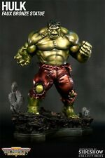 BOWEN DESIGNS Incredible HULK FULL SIZE RETRO STATUE FAUX BRONZE MIB!!! SIDESHOW