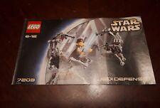Lego Star Wars Instructions Booklet for # 7203 Jedi Defence 1 Set 2002