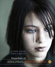 Essentials of Abnormal Psychology by V. Mark Durand / David H. Barlow(2012,HC)