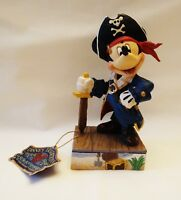 """JIM SHORE DISNEY MICKEY"""" SET SAIL FOR ADVENTURE"""" PIRATE 4056760 NEW WITHOUT BOX"""