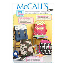 McCall's Learn to Sew for Fun Sewing Pattern | M7207 | Backpacks | One Size Only