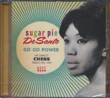 SEALED NEW CD Sugar Pie DeSanto - Go Go Power: The Complete Chess Singles 1961-1
