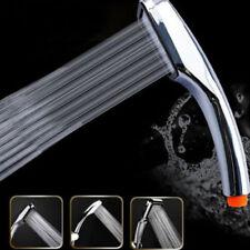 High Turbo Pressure Shower Head Bathroom Hand Large Rainfall Water Saving Filter