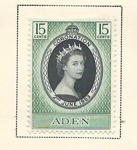 1953 Coronation Mint Hinged