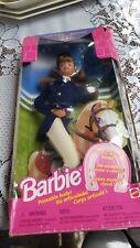 1997 MATTEL DOLL HORSE RIDING BRUNETTE BARBIE POSEABLE BODY - MATTEL 19268