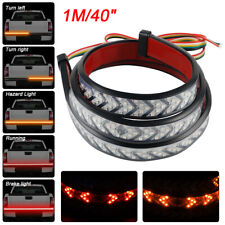 "40"" Car LED Tail Light Strip Sequential Dynamic Turn Signal DRL Brake Trunk Lamp"