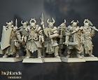 7 Varyags Warriors, Chaos Krieger, Warhammer, Saga, AoS, Highlands Miniatures,