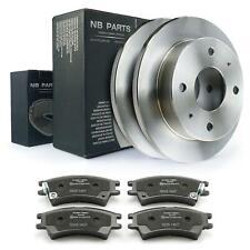 Bremsscheiben + Bremsbeläge vorne 230mm voll Hyundai Atos MX Prime 1.0 Bremsen