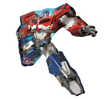TRANSFORMERS FLAT Mini Shape Foil Balloon Character Birthday Party Decoration