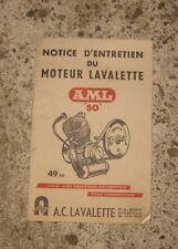 * manuel moteur lavalette AML 50