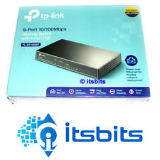 TP-LINK TL-SF1008P 8 PORT SWITCH WITH 4x PoE PORTS 53W TOTAL OUTPUT 10/100 HUB