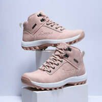 Women's Waterproof Snow Boots Ankle Shoes Winter Warm Outdoor Walk Shoes Casual