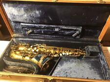 Buffet Crampon SA 18-20 Alto Saxophone W/ Original Case Plus some accessories
