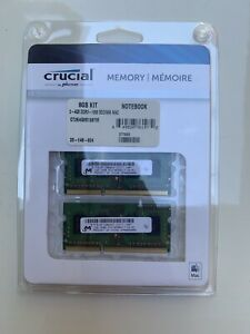 Crucial By Micron Memory Card8GB Kit 2- Pack (2GB)