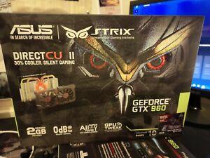 ASUS GTX 960 (2048 MB) (STRIX-GTX960-DC2OC-2GD5) Graphics Card