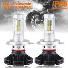 H4 LED For Honda VTX1800F VTX1800C VTX1300S VTX1300R HS1 Headlight Bulbs