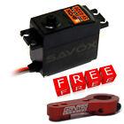 Savox SV-0320 Digital Standard High Voltage Servo 1/10 1/8 w/Free Red Alum Horn
