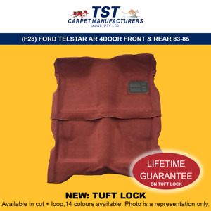 MOULDED CAR CARPETS (F28) FORD TELSTAR AR 4 DOOR FRONT & REAR 83-85