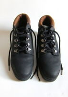 NEW Mint Timberland Lace-Up Black Ankle High Boots Hiking Women's Shoes Sz 5M