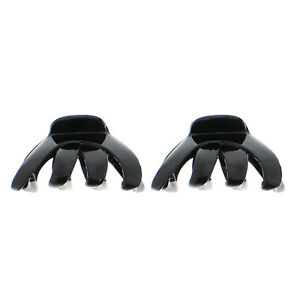 Zac's Alter Ego Pair of 8.5cm Large Hair Octopus Clamps/Bulldog Claw Clips