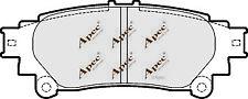REAR BRAKE PADS FOR TOYOTA PRIUS PLUS GENUINE APEC PAD1718