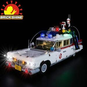 Brick Shine-LED Light Kit for Lego Ghostbusters™ ECTO-1 10274 W/T Sound Effect