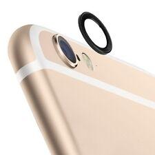 Für Apple iPhone 6 4.7 Zubehör Kamera Schutz Schwarz Protection Ring hochwertig