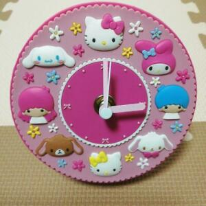 Sanrio Rubber Clock Watch My Melody Kitty Cinnamon Characters