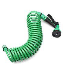 Spirale Tubo Irrigazione Giardino 7,5 M+ Pistola a Spruzzo Dell'Acqua
