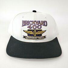 Vintage Mens 1994 NASCAR Brickyard 400 Inaugural Race Snapback Hat Cap DeLONG