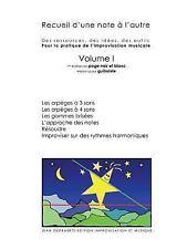 N and B Recueil d'une Note À l'Autre Volume I Version Pour Guitare by Jean...