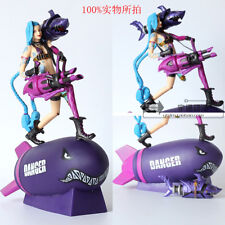 LOL League of Legends Project Unforgiven Jinx Action Figure Figurines PVC Toys