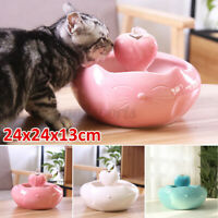 2.5L Pet Dog Cat Water Dispenser Fountain Feeder Automatic Ceramic Wate