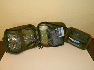 Emergency Survival Trauma Medical Kit w/ Molle Pouch First Aid Kit
