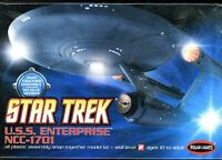 POLAR LIGHTS Star Trek USS ENTERPRISE NCC-1701 snap together NIB Model Kit M107