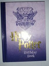 Harry Potter Birthday Book by Anonymous Other printed item Book The Fast Free
