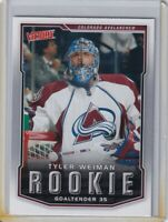 TYLER WEIMAN ROOKIE Card RC 2007 2008 UPPER DECK VICTORY NHL #344 AVALANCHE