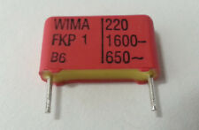 WIMA FKP-1 Polypropylene Capacitors 220pF 1600V FKP1T002204B00KSSD NEW 10pcs