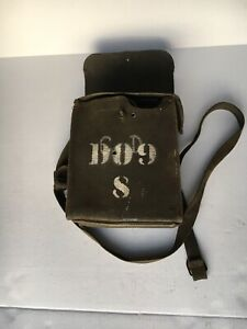 Vintage Signal Corps US Army EE8B WW2 Field Phone and Case