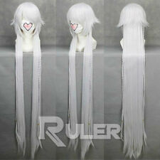 135CM Anime Pandora Hearts Alice White Cosplay Wig COS-167A